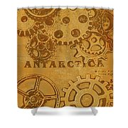 Antarctech Shower Curtain