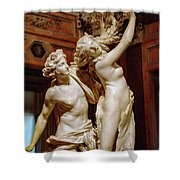 Apollo And Daphne Shower Curtain