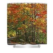 Appalachian Backroads Shower Curtain