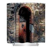 Appia Antica Porta Shower Curtain