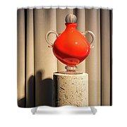 Apple Vase Shower Curtain