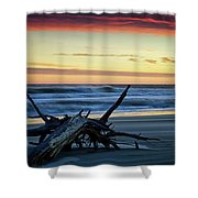 Approaching Tide Shower Curtain