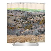April Day Reverie Shower Curtain