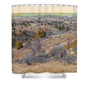 April Prairie Reverie Shower Curtain