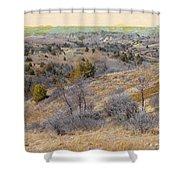 April Prairie Reverie Shower Curtain