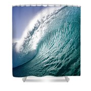 Aqua Coil Shower Curtain