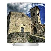 Aquino Chiesa Shower Curtain