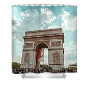 Arc De Triomphe - World Cup 2018 Shower Curtain