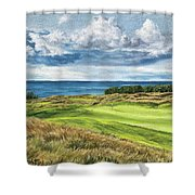 Arcadia Bluffs Shower Curtain