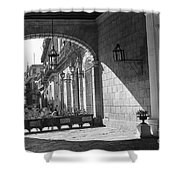 Arch And Shawdow Shower Curtain