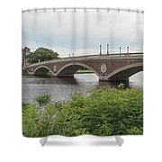 Arch Bridge Over River, Cambridge Shower Curtain