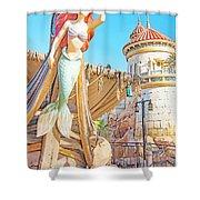 Ariel, The Little Mermaid, Walt Disney World Shower Curtain