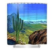 Arizona Heat Shower Curtain