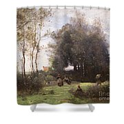 Arleux-palluel The Bridge Of Trysts Shower Curtain