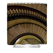 Arlington Stairs Layers Shower Curtain