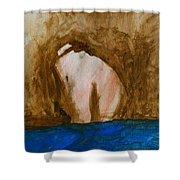 Arse Shower Curtain