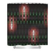 Art Deco Design 14 Shower Curtain