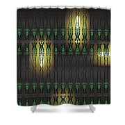 Art Deco Design 15 Shower Curtain