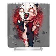 Art Plushie Shower Curtain