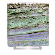 Art Print Cliff 16 Shower Curtain by Harry Gruenert