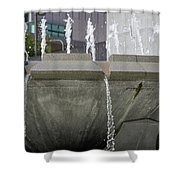 Arthur J. Will Memorial Fountain Shower Curtain
