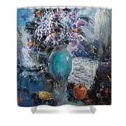 Articulated Melody Shower Curtain