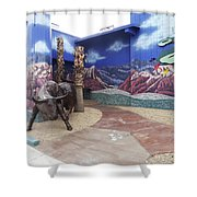 Artistic Iron Works Shower Curtain