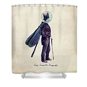 Inspector Dragonfly Shower Curtain