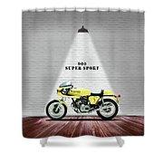 Ducati 900 Super Sport Shower Curtain