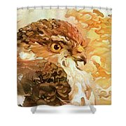 Prince Of The Skies Shower Curtain