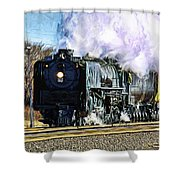 Up 844 Movin' On - Artistic Shower Curtain