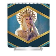 Queen Cher Shower Curtain