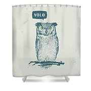 Yolo Shower Curtain