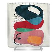 Positive Colors 8 Shower Curtain