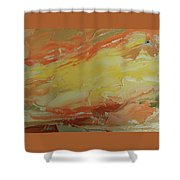 Winged Horse In The Sky Shower Curtain