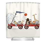 A Little Breeze Shower Curtain