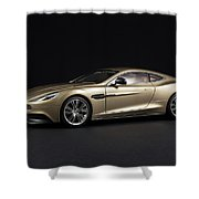 Aston Martin Vanquish Shower Curtain