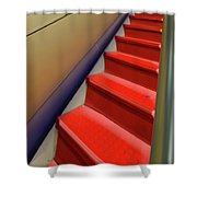 At The Top Shower Curtain by Paul Wear