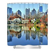 Atlanta Reflected Shower Curtain