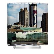 Atlanta Skyline 3 Shower Curtain