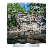 August Morning At Awosting Falls 2019 Shower Curtain