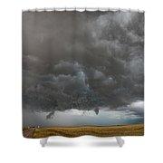 August Thunder 020 Shower Curtain by Dale Kaminski
