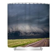 August Thunder 034 Shower Curtain by Dale Kaminski