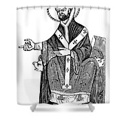 Augustine Of Hippo Shower Curtain