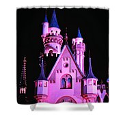 Aurora's Castle Shower Curtain