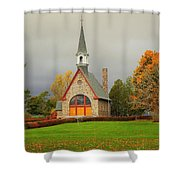 Autumn At Grand Pre Shower Curtain