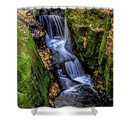 Autumn At Pewits Nest Shower Curtain by Dawn Richards