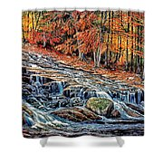 Autumn Cascade Shower Curtain