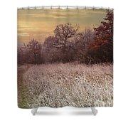 Autumn Frost Shower Curtain