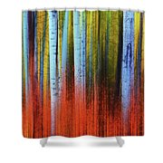 Autumn In Color Shower Curtain by John De Bord